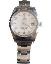 Rolex - Pre-owned Oyster Perpetual 36mm Watch - Lyst