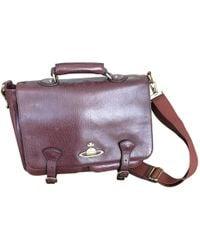 Vivienne Westwood - Pre-owned Brown Leather Bag - Lyst