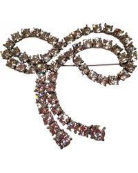 Sonia Rykiel - Silver Metal Pins & Brooches - Lyst