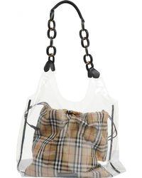f9f4cf5fd305 Burberry - Pre-owned Multicolour Plastic Handbags - Lyst