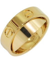Cartier - Love Yellow Yellow Gold - Lyst