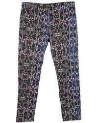 Isabel Marant - Blue Cotton - Elasthane Jeans - Lyst