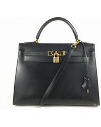 Hermès - Kelly Leather Tote - Lyst