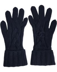 Chanel | Cashmere Gloves | Lyst