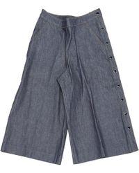 Vanessa Seward - Other Cotton Shorts - Lyst