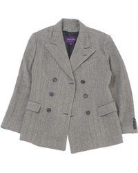 Ralph Lauren Collection - Black Wool Jacket - Lyst
