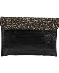 Dries Van Noten - Leather Clutch Bag - Lyst
