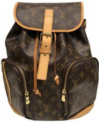 Louis Vuitton - Bosphore Leather Backpack - Lyst