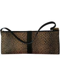 Lancel - Pre-owned Cloth Clutch Bag - Lyst