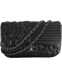 Chanel Pre-owned Timeless Leather Crossbody Bag in Black - Lyst fdc2c35123ff8