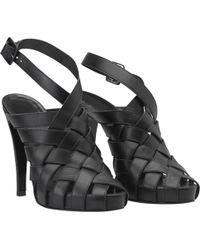 Hermès - Cloth Sandal - Lyst