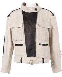 IRO - Linen Jacket - Lyst