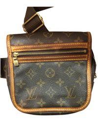 Louis Vuitton - Vintage Bum Bag / Sac Ceinture Brown Cloth Bag - Lyst
