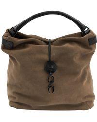 CoSTUME NATIONAL - Pre-owned Brown Suede Handbags - Lyst