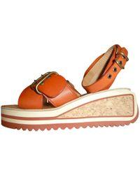 Étoile Isabel Marant - Leather Sandals - Lyst