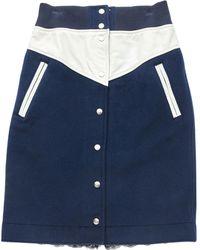 Nike - Mid-length Skirt, In Wool - Lyst