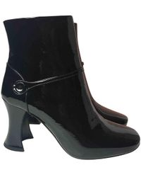 Free Shipping Best Sale High Quality Sale Online Pre-owned - Leather ankle boots Miu Miu 2tuccII2EX