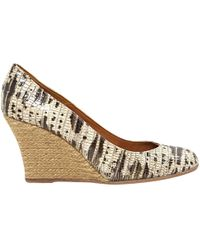 Lanvin - Pre-owned Python Heels - Lyst