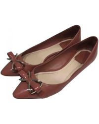 Dior - Pre-owned Patent Leather Ballet Flats - Lyst