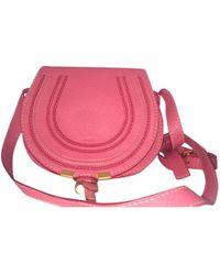 Chloé - Marcie Leather Crossbody Bag - Lyst