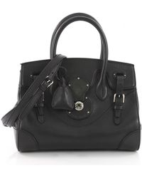 Ralph Lauren Collection - Leather Crossbody Bag - Lyst