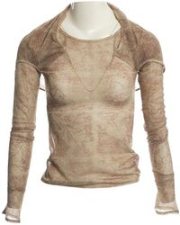John Galliano - Pre-owned Multicolour Synthetic Tops - Lyst