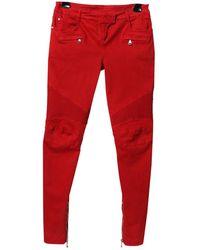 Balmain | Slim Jeans | Lyst