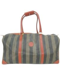 d2e4e22da952 Fendi - Pre-owned Vintage Other Cloth Travel Bags - Lyst