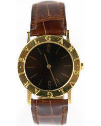 BVLGARI - Pre-owned B.zero1 Yellow Gold Watch - Lyst