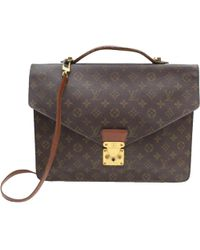Louis Vuitton - Brown Cloth - Lyst