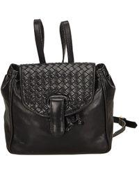 Bottega Veneta - Pre-owned Leather Backpack - Lyst