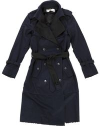 Golden Goose Deluxe Brand - Blue Other Trench Coat - Lyst