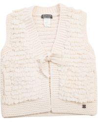 Sonia by Sonia Rykiel - Ecru Wool Knitwear - Lyst