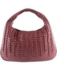 64cb4c680cf6 Bottega Veneta - Pre-owned Veneta Brown Leather Handbag - Lyst