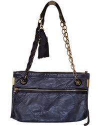 Lanvin - Pre-owned Amalia Black Leather Handbags - Lyst e51a6dc0db