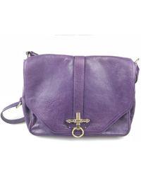 3f0892e333 Givenchy - Obsedia Purple Leather Handbag - Lyst
