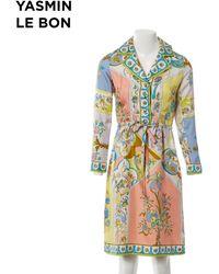 Emilio Pucci - Silk Mid-length Dress - Lyst