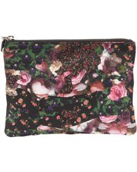 Givenchy - Pre-owned Cloth Clutch - Lyst