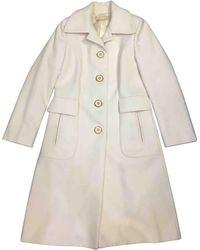 Michael Kors - Pre-owned Wool Coat - Lyst