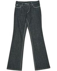 Louis Vuitton - Navy Cotton - Elasthane Jeans - Lyst
