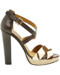 Ralph Lauren Collection - Pre-owned Leather Heels - Lyst