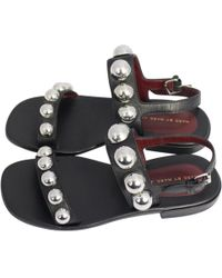 Marc By Marc Jacobs - Pre-owned Leather Sandal - Lyst