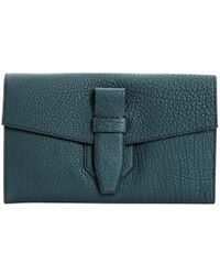 Lancel - Leather Clutch Bag - Lyst