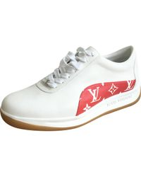 4679138d87fe Lyst - Louis Vuitton Archlight Leather Trainers in White for Men