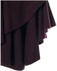Lanvin - Purple Wool Jacket - Lyst