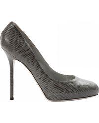 Sergio Rossi - Leather Heels - Lyst