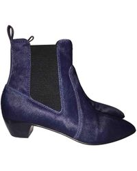 Marc By Marc Jacobs - Pre-owned Pony-style Calfskin Ankle Boots - Lyst