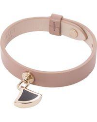 BVLGARI - Pre-owned Diva's Dream Leather Bracelet - Lyst