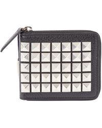Burberry - Leather Card Wallet - Lyst