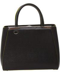Fendi - 2jours Leather Bag - Lyst